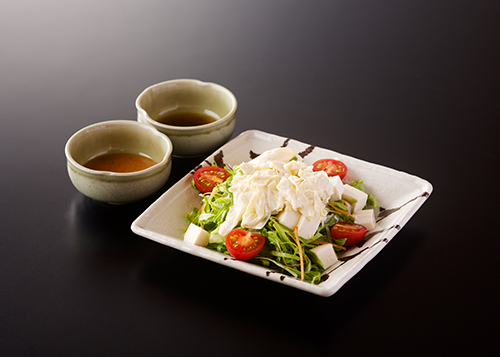 京都蔬菜与生豆腐皮·京都豆腐沙拉