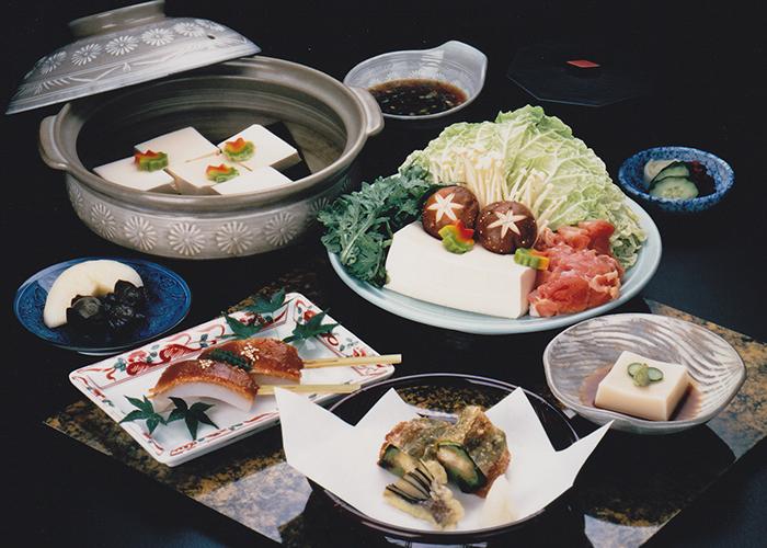 水煮豆腐砂锅 松餐