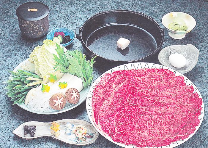 A5级黑毛和牛日式牛肉火锅