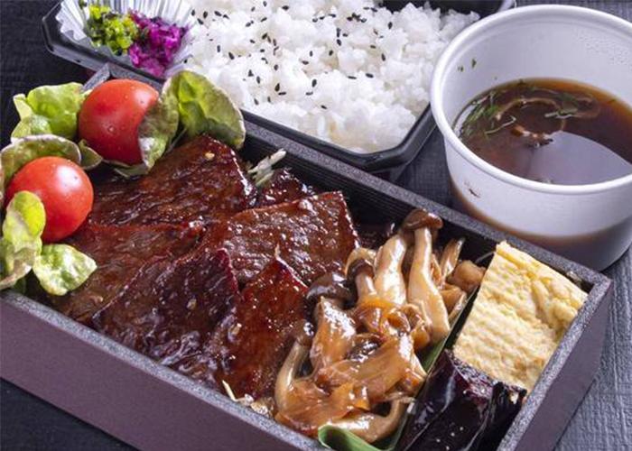 A5级日本黑牛烧肉便当