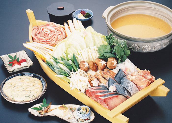 海鮮味噌ちゃんこ鍋